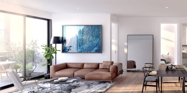 Coach House interior render