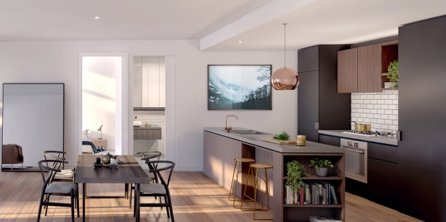 The Coach House interior render