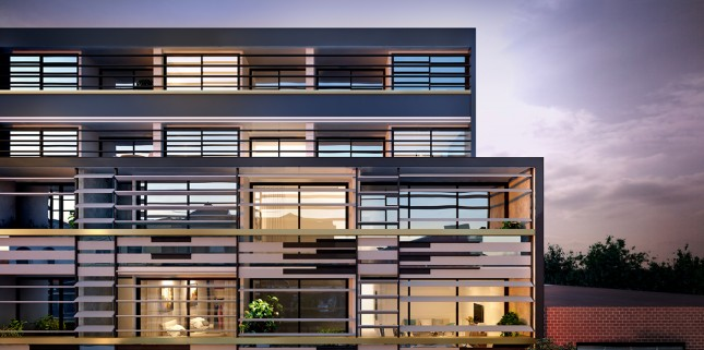Goldfields Group, The Coach House facade render