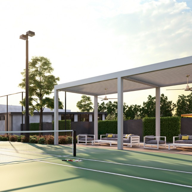 Goldfields Group, Bridgefield tennis court