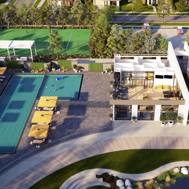 Goldfields Group, Bridgefield Residents Club aerial