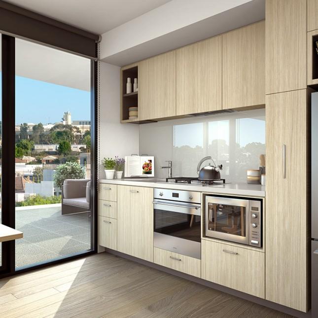 Goldfields Group, The Village light scheme kitchen