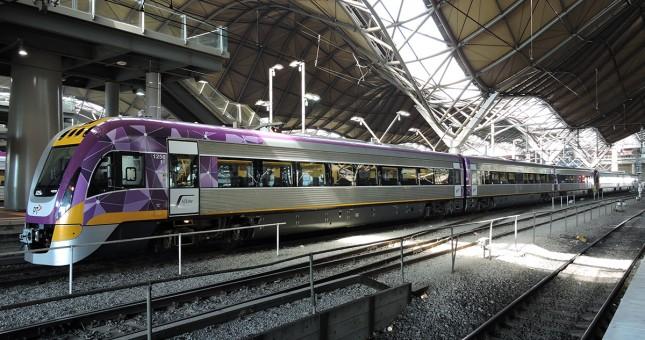 train V line, Bridgefield