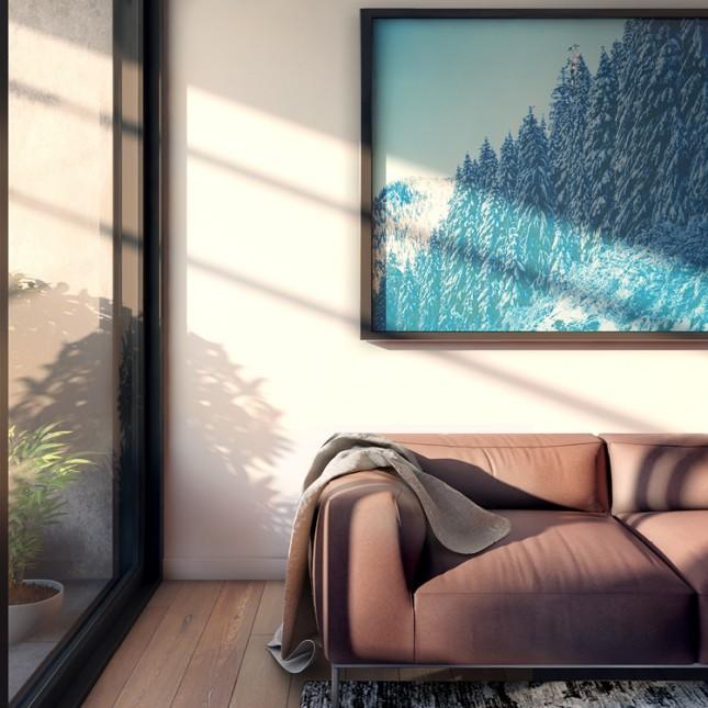 Coach House interior render