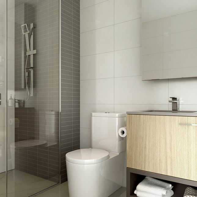 Goldfields Group, The Village light scheme bathroom